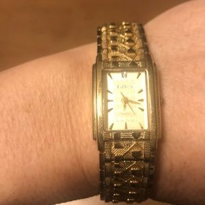 Elgin gold nugget watch